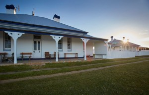 lighthouse keepers quarters accommodation at green cape. beautiful 1800's Australian building
