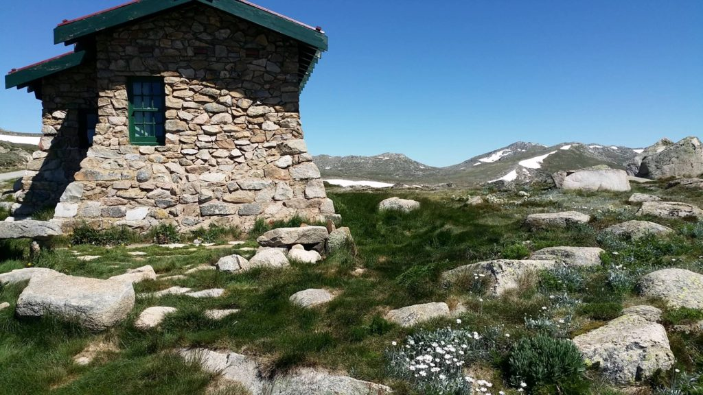 seamans hut in kosciuszko national park