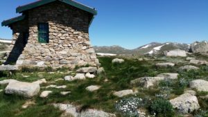 seamans hut in kosciuszko national park