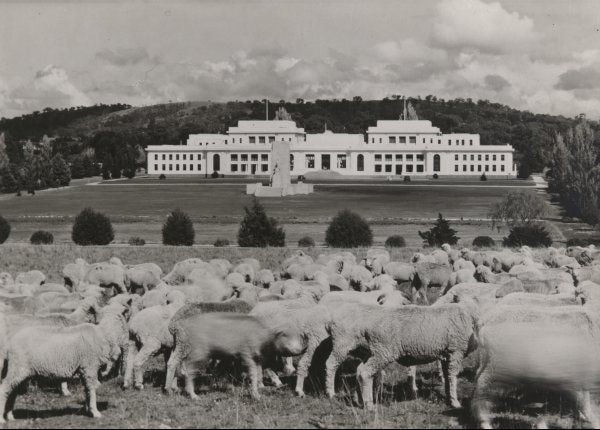 Canberra then and now