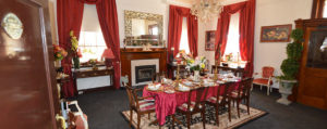 lavishly appointed 1915 heritage dining room in montrose house canowindra